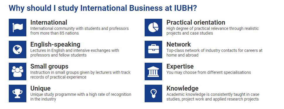 IUBH,business in Germany,MBA in Germany,masters in Germany