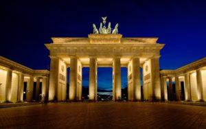 Study in Germany-Brandenburg Gate Berlin