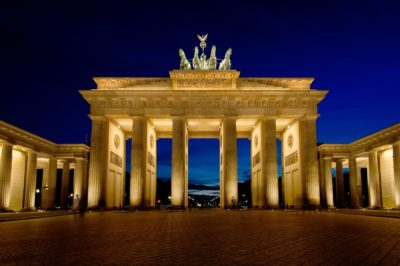 Study in Germany-Brandenburg Gate Berlin