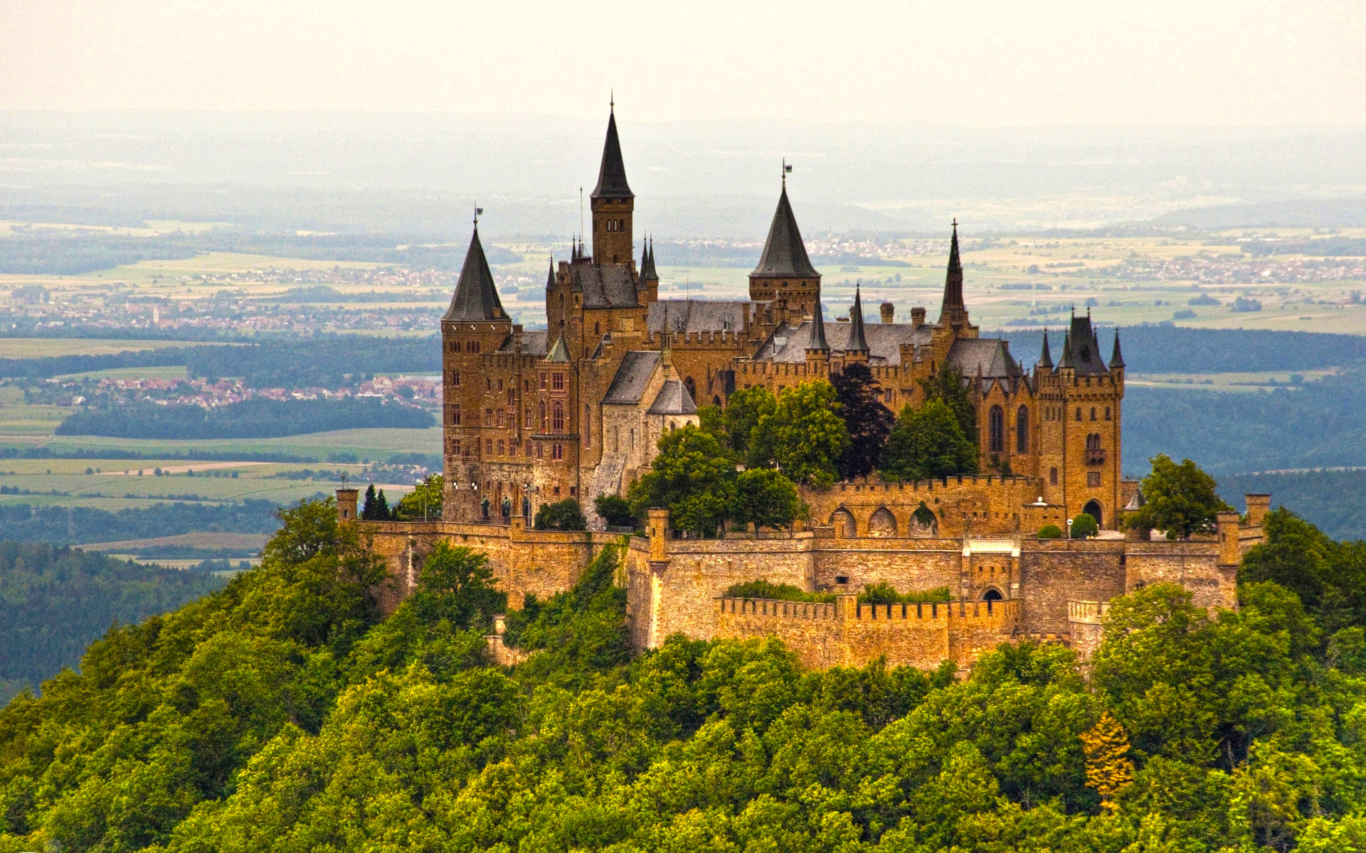 Study in Germany-Hohenzollern Castle