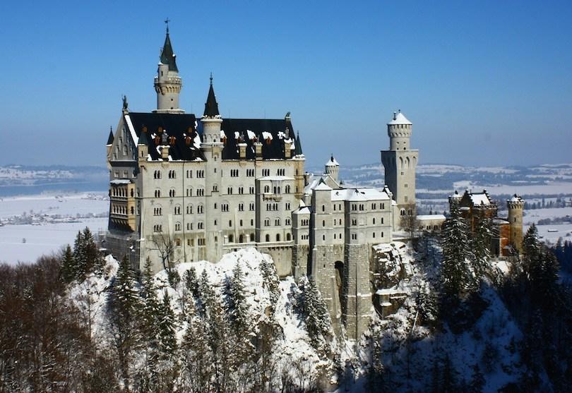 Study in Germany- neuschwanstein
